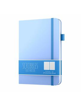 Dotted Journal By Scribbles That Matter   Create Your Own Unique Life Organizer   No Bleed A5 Hardcover Dotted Notebook With Inner Pocket   Fountain Pens Friendly Paper   Pro Version   Periwinkle Blue by Amazon