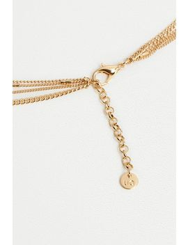 Gothic Multi Chain Lariat Necklace by Urban Outfitters