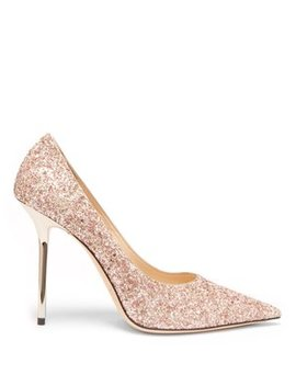 Love 100 Glitter Pumps by Jimmy Choo