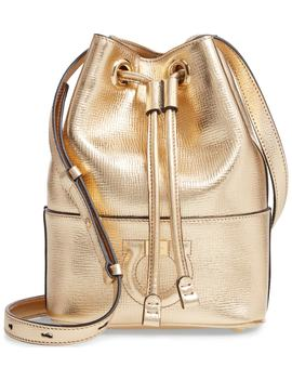 City Quilted Gancio Bucket Bag by Salvatore Ferragamo