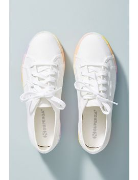 Superga Rainbow Platform Sneakers by Superga