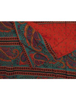 Vintage Paisley King Sized Comforter by Etsy