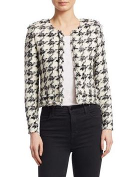 Hope Houndstooth Jacket by Iro