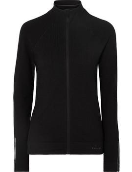 Delight Paneled Stretch Knit Ski Jacket by Falke Ergonomic Sport System