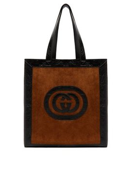 Ophidia Medium Suede Tote by Gucci