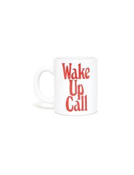 Hot Stuff Ceramic Mug   Wake Up Call by Ban.Do
