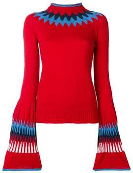 Contrast Neck Jumper by Sonia Rykiel