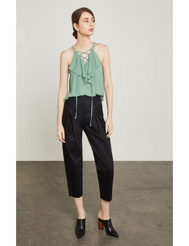 Pleated Ankle Pant by Bcbgmaxazria