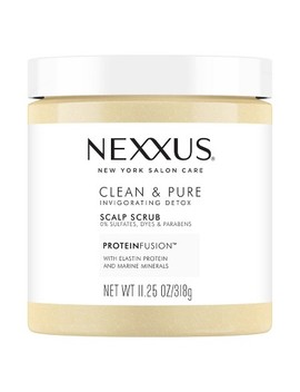 Nexxus Clean & Pure Invigorating Detox Scalp Scrub   11.25oz by Shop Collections