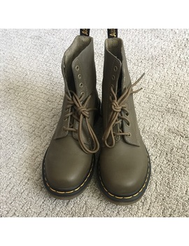 Dr. Martens Army Green 1460 by Dr. Martens