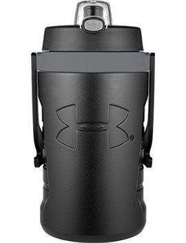 Under Armour Sideline 64 Ounce Water Bottle, Black by Thermos