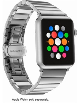 Link Stainless Steel Band For Apple Watch™ 42mm   Silver by Platinum