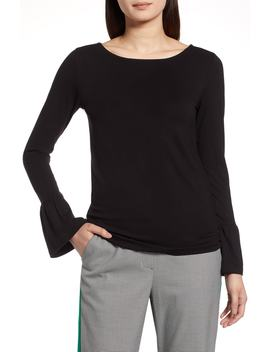 Bell Sleeve Knit Top by Halogen®