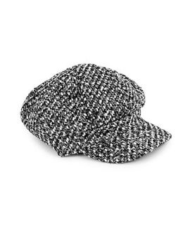Textured Newsboy Cap by Parkhurst