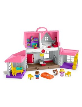 Fisher Price Little People Big Helpers Home   Pink by Little People