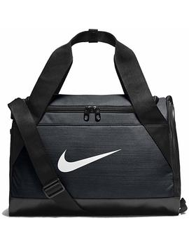 Nike Brasilia Training Duffel Bag, Black/Black/White, Medium by Amazon