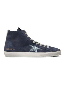 Ssense Exclusive Navy Monday Francy Sneakers by Golden Goose