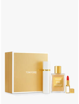 Tom Ford Soleil Blanc Shimmer & Colour Travel Fragrance Gift Set by Tom Ford