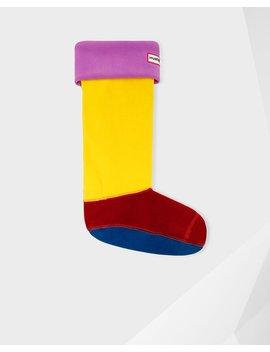 "<Span Itemprop=""Name"">Women's Original Color Block Cuff Boot Socks</Span>:                     <Span>Thistle</Span> by Hunter"