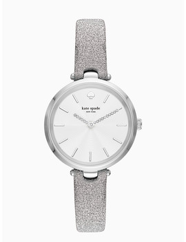 Holland Metallic Silver Tone Watch by Kate Spade