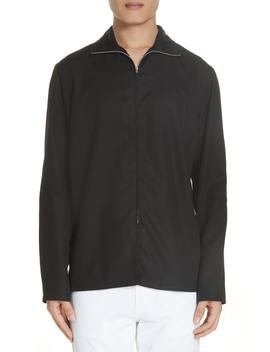 Zip Woven Shirt by Lemaire