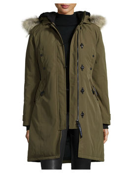 Kensington Fur Hood Parka by Neiman Marcus