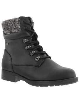 Women's Derry Black Waterproof Winter Boots by Cougar
