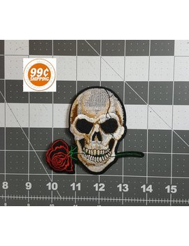 """Skull N Rose Patch 