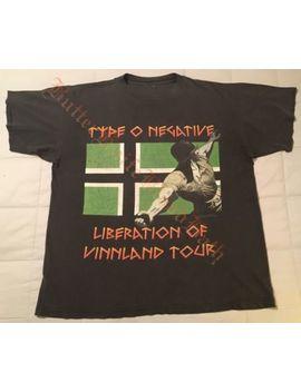 1996 Type O Negative Vintage Tour T Shirt Xl Libertação De Vinnland Uva Azul by Ebay Seller