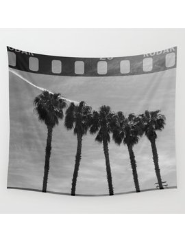 California Monochromia Wall Tapestry by