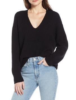 V Neck Sweater by Something Navy