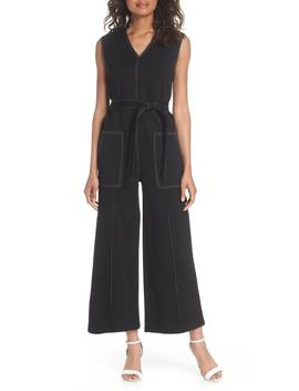 Playdate Stretch Knit Jumpsuit by Caara