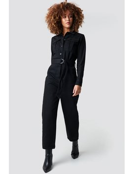 Belted Cargo Jumpsuit by Na Kd Trend
