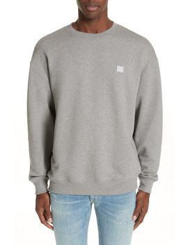 Forba Face Sweatshirt by Acne Studios