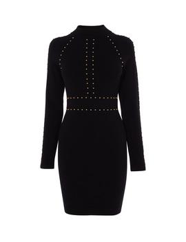 Stud Embellished Bodycon Dress by Kd030 Kd030 Kd149 Td092 Hd033