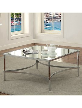Furniture Of America Frank Contemporary Metal Coffee Table by Furniture Of America