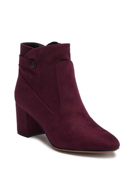 Nixon Faux Suede Ankle Boot by Franco Sarto