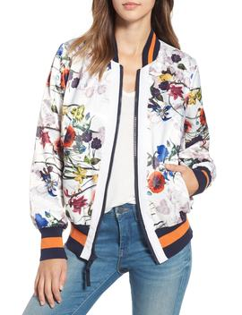 Flower Print Bomber Jacket by Rachel Rachel Roy