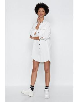 Shirt It Out Relaxed Dress by Nasty Gal