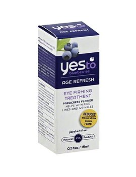 Yes To Blueberries Eye Firming Treatment, Age Refresh 0.50 Oz by Yes To