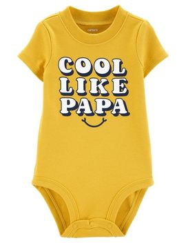 Cool Like Papa Collectible Bodysuit by Carter's