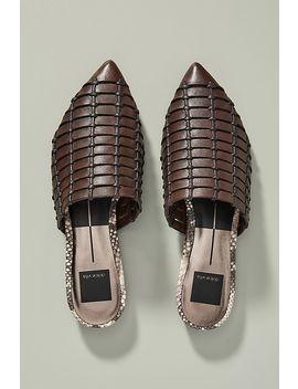 Dolce Vita Elina Woven Leather Slides by Dolce Vita