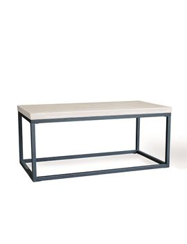 Slab Box Frame Coffee Table   Rectangle by West Elm