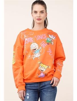 Rugrats Crew Neck Sweatshirt by Papaya