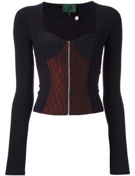 Longsleeved Bustier Top by Jean Paul Gaultier Vintage