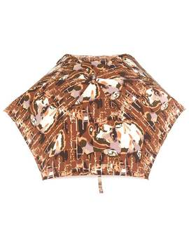 Face Printed Umbrella by Jean Paul Gaultier Vintage