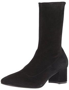 Aquatalia Women's Janine Stretch Suede Ankle Boot by Aquatalia