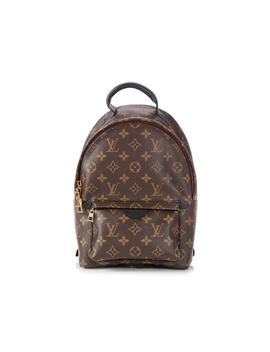 Palm Springs Monogram Brown Canvas Backpack by Louis Vuitton