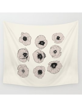 Poppy Wall Tapestry by