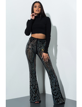 The Party Dont Stop Disco Pants by Akira